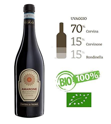Amarone della Valpolicella Classico DOCG 2015, Vino Amarone della Valpolicella DOCG 2015, Amarone della Valpolicella Vino Rosso Cl 75, Amarone della Valpolicella Classico DOCG 2015 - Negrar