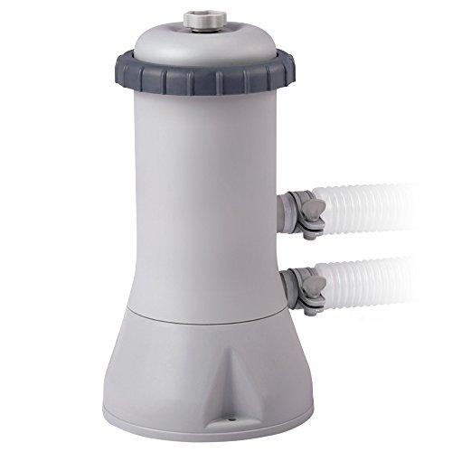 Intex 28638 Kartuschenfilteranlage, Typ ECO 3800, grau, 3,785 l/h / 99 W / 230 V