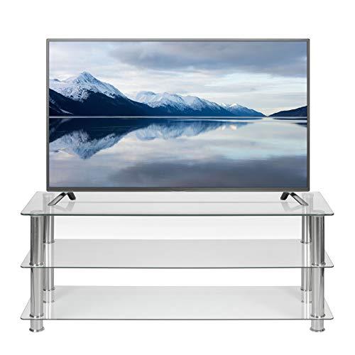 Mobile TV in vetro trasparente largo 125 cm per 32 42 50 55 60 pollici LCD LED Smart TV a schermo...