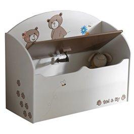 13Casa – Teddy D2 – Panca contenitore. Dim: 69,5×29,5×55,5 h cm. Col: Bianco,