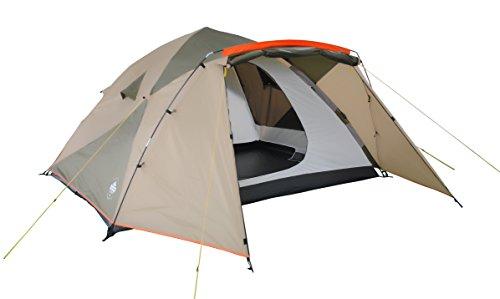 Lumaland Tienda de campaña Familiar Light Pop Up 6 Personas Camping Acampada Festival 315 x 245 x 170 cm Verde