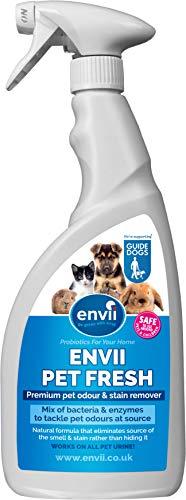 Envii Pet Fresh – Deodorante e Smacchiatore Per Animali, Rimuove Gli Odori e Neutralizza Gli...