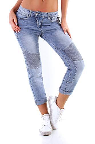 OSAB-Fashion 5199 Damen Jeans KAROSTAR by LEXXURY Röhre Hose...