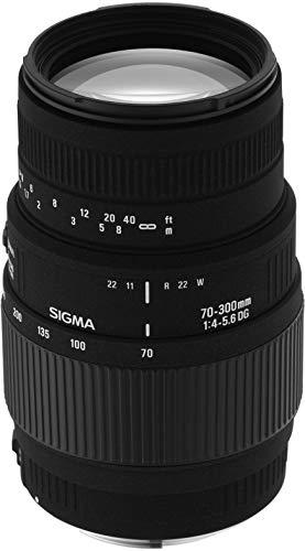 Sigma 70-300 mm F4,0-5,6 DG Makro-Objektiv (58 mm Filtergewinde) für Minolta / Sony Objektivbajonett