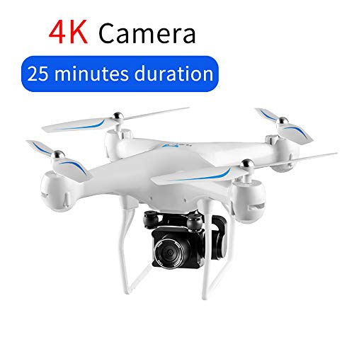 Drone FPV GPS RC con telecamera 4K HD PTZ, Quadcopter di controllo dell'app Android WiFi Video con...