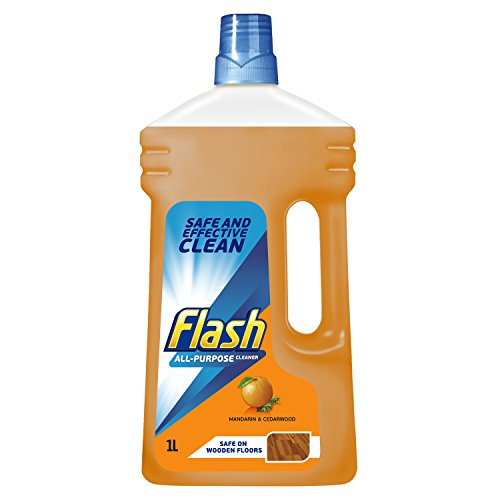 Flash Universal Mandarin and Cedarwood Multi-Surface Cleaning Liquid Removes Up to 100 Percent of Dirt, Grease and Grime, 1 Litre 1  Flash Universal Mandarin and Cedarwood Multi-Surface Cleaning Liquid Removes Up to 100 Percent of Dirt, Grease and Grime, 1 Litre 414 2BF7Up5aL
