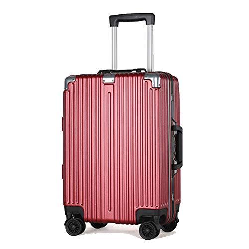 YSZG Valigia per trolley sportiva, borsa da viaggio per pc, valigia trolley in alluminio, valigetta...