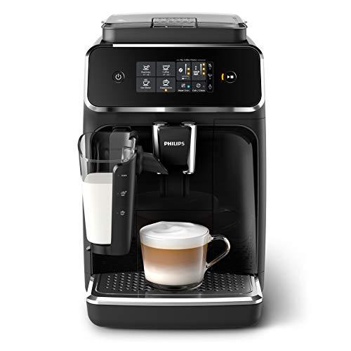 Philips Serie 2200 EP2231/40, Macchina da Caffè Automatica, 3 Bevande, con Macine in Ceramica,...