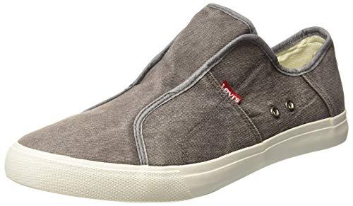 Levi's Men's Hauxton 2.0 Light Grey Sneakers-8 UK/India (42)(9 US) (38110-0534)