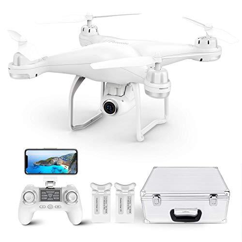 Potensic Drone GPS Professionale T25 FPV con Telecamera 120 ° Grandangolo Regolabile HD 1080P Dual...