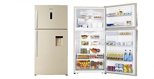 Hisense RT709N4WY1 Libera installazione Sabbia 405L 140L A+ frigorifero con congelatore