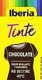 Iberia - Tinte Chocolate Color brillante y duradero para ropa 70 g
