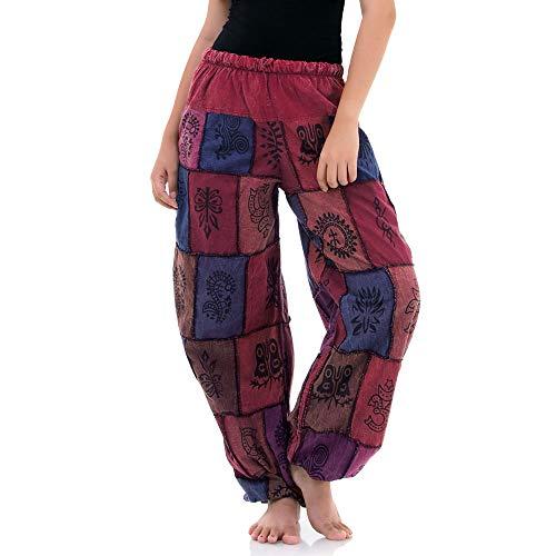 Princess of Asia Hippie Jeans Patchwork Hose Haremshose Aladinhose...