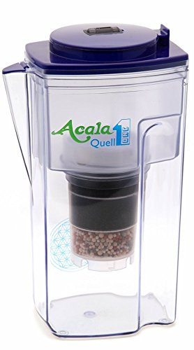 AcalaQuell One 2.8L water filter jug with cartridges bundle (blue) (2 months of AcalaQuell One/Swing) (1 cartridge)