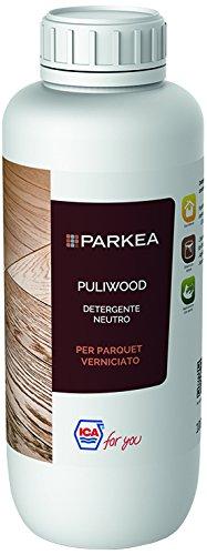 Ica For You PULIWOOD-01 Puliwood Detergente Neutro per Parquet Verniciato, Trasparente