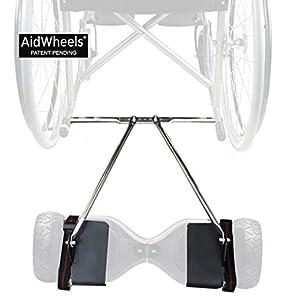 Adaptador AidWheels de patinete electrico hoverboard a silla de ruedas Breezy