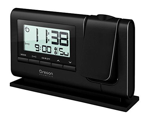 Oregon Scientific RM308PX Orologio Proiettore Digitale, Nero
