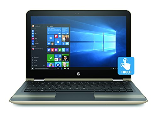 HP Pavilion x360 13-u102na Convertible Laptop (13.3 inch, Full HD, Touch-Screen, Intel Core i5-7200U, 8 GB RAM, 128 GB SSD, Windows 10) - Gold