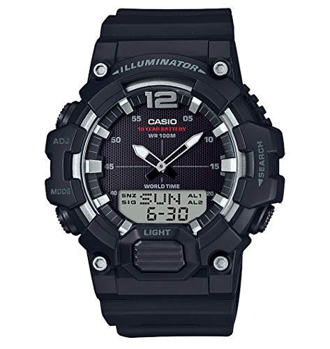 Casio Orologio Cronografo Quarzo Uomo con Cinturino in Resina HDC-700-1AVEF
