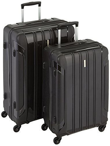 Travelite Koffer Colosso 4-Rad Polypropylen-Trolley L/M, 76 cm 184 Liters Schwarz 71210-01