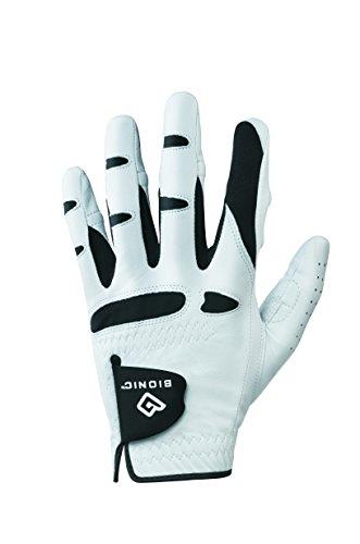 Bionic–Guanti da Uomo Stablegrip Golf Glove W/Tecnologia brevettata Naturale Fit in Materiale...