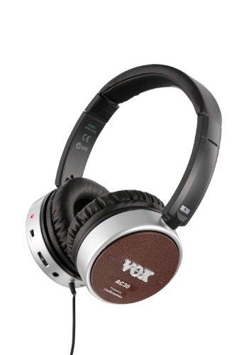 VOX Amphones AC30 - Active Guitar Amp Headphones - Brown