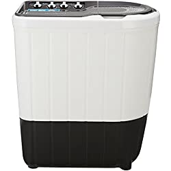 Whirlpool 7 kg Semi-Automatic Top Loading Washing Machine (SUPERB ATOM 7.0, Grey, TurboScrub Technology)