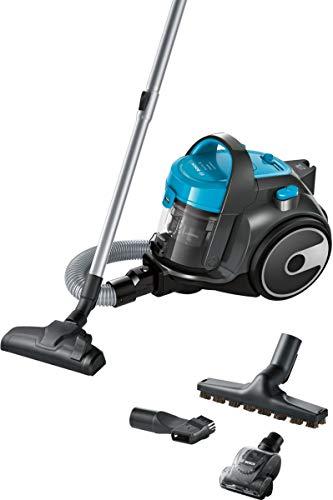 Bosch Electroménager Cleann'n, Aspirateur sans sac, compact et léger, Turquoise, 700 W, 78 décibeles