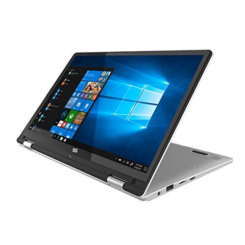 PRIXTON - Computer portatile / Notebook con schermo touch da 11,6 pollici, Processore Intel Quad...