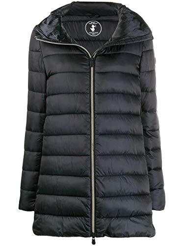 Save The Duck Luxury Fashion Donna D4362WIRIS900001 Nero Piumino | Autunno Inverno 19