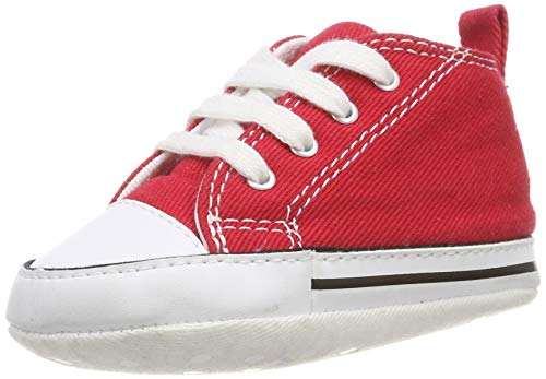 Converse First Star 88875, Sneaker, Unisex bambino, Rosso, 19