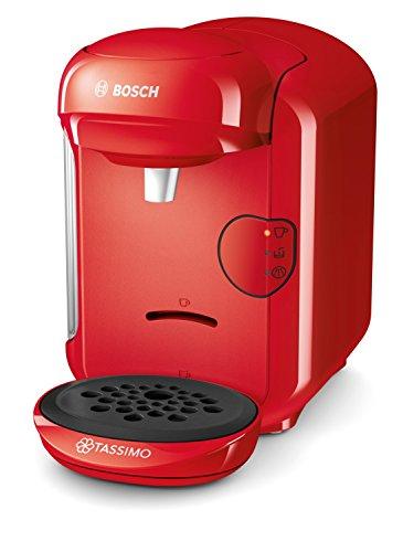 Bosch TAS1403 Tassimo Vivy2 - Macchina da caffè con capsule, compatto, 0.7L, 1300 W, Rosso