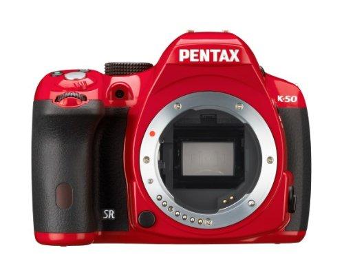Pentax K50 - Cuerpo de cámara réflex, Rojo