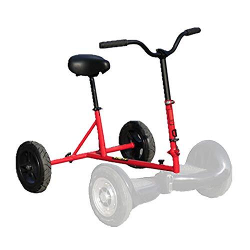 XULONG Scooter Elettrico, Hoverkart Kart Kit di conversione Hovercart Regolabile, Staffa ausiliaria...
