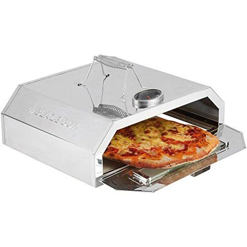Clifford James Forno per Pizza BBQ con Indicatore di Temperatura per Barbecue da Giardino e Grill a...