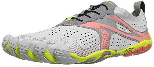 Vibram FiveFingers 17W7006 V-RUN, Sneaker Damen, Weiß (Rosa/Oyster), 41 EU