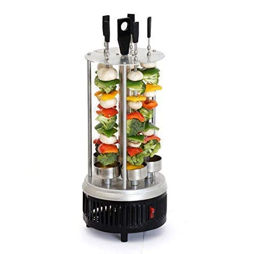 Credly Vertical Rotisserie Grill - Grill Machine - Tandoor Grill Electric Grill (Black)