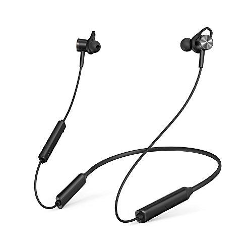 Noise Cancelling Kopfhörer TaoTronics Bluetooth 4.2 ANC In Ear Kopfhörer mit Nackenbügel und integrierten Magneten, IPX5, CVC 6.0 geräuschunterdrückendem Mems Mikrofon