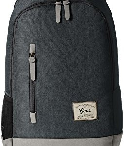 Gear Classic 24 ltrs Charcoal Grey and Grey Casual Backpack (BKPCAMPS83804) 16  Gear Classic 24 ltrs Charcoal Grey and Grey Casual Backpack (BKPCAMPS83804) 414rv4tHOjL