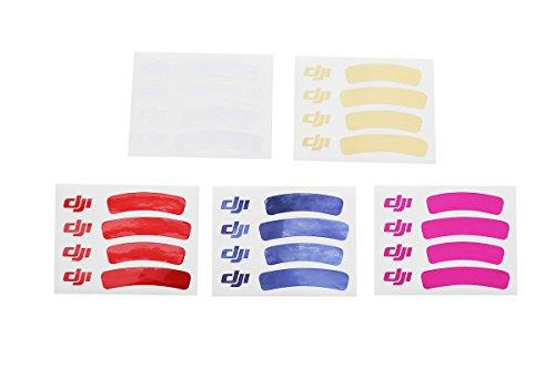 DJI Part 43 Sticker Set sticker decorativi Blu, Rosa, Rosso, Bianco, Giallo Permanente 5 pezzo(i)