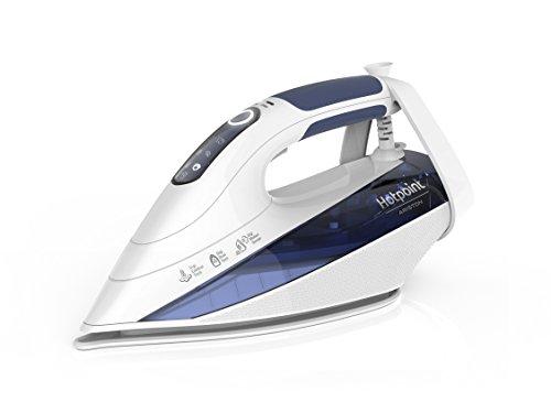 Hotpoint Si C55 Dew Ferro da Stiro a Vapore, 2400 W, 0.33 Litri, Bianco/Blu
