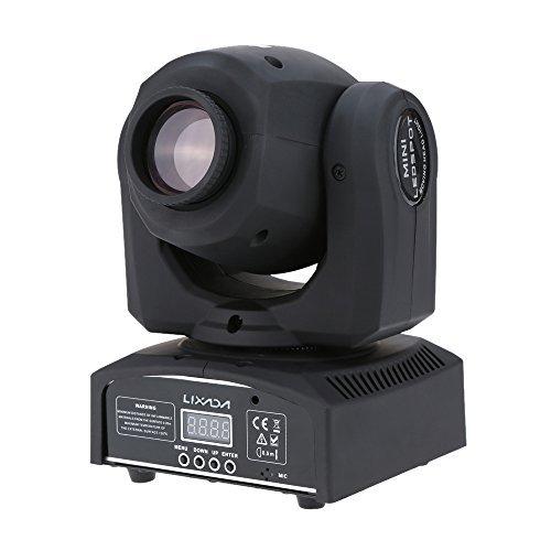 Lixada RGBW LED Luce di scena/LED Sfera Magic Luci,DMX-512,25W,AC 100-240V (tipo 3)
