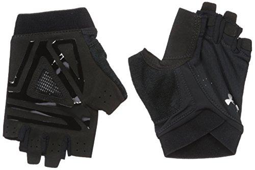 Under Armour, Cs Flux Training Glove, Guanto, Donna, Nero (Nero/Nero/Argento), L