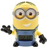 BulbBotz Despertador Infantil con Luz Nocturna, Multicolor, 15x9x14 cm