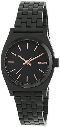 Nixon A399957-00 - Orologio da polso Da Donna, Acciaio inossidabile, colore: Nero