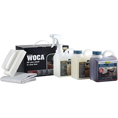 Woca, Box per la pulizia, con olio, Naturale, 699962N