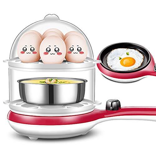 Cuoci Uova Sode Cuociuova Elettrico Bollitore per Uova Automatico Capacità 14 Uova Piatto Base...
