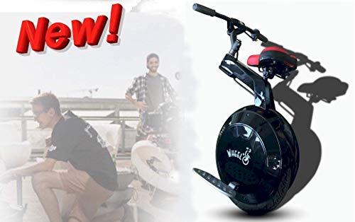 Wheelo Bit Nuova Versione Monociclo Scooter Monopattino Elettrico Auto Bilanciato Con Sellino E...