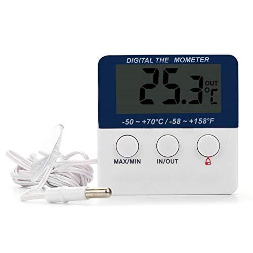 Termometro frigorifero Termometro congelatore per interni ed esterni Termometro, Allarme...
