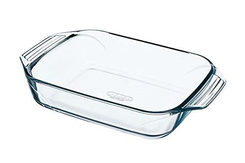Pyrex Irresistible Teglia Rettangolare, in vetro borosilicato, 35x23x6cm, Trasparente
